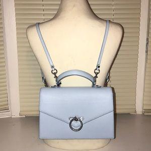 "Rebecca Minkoff Blue ""Jean"" Convertible Backpack"